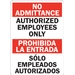 AUTHORIZED EMPLOYEES ONLY